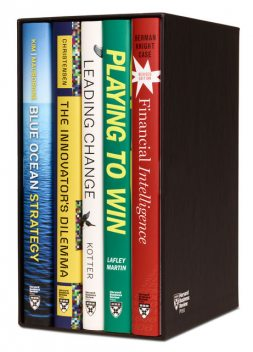 Harvard Business Review Leadership & Strategy Boxed Set (5 Books), Renee Mauborgne, Clayton Christensen, Harvard Business Review, W. Chan Kim, John P. Kotter