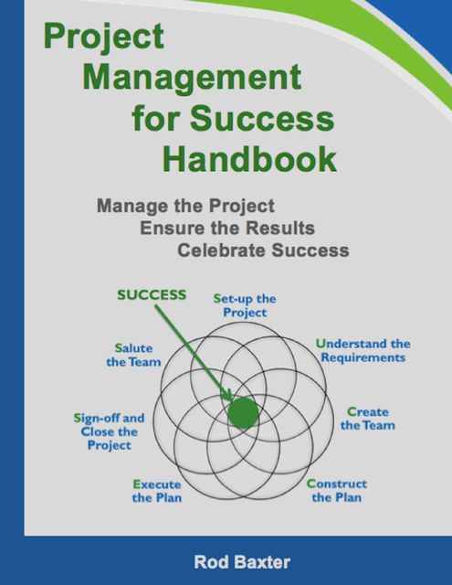 Project Management for Success Handbook: Manage the Project – Ensure the Results – Celebrate Success, Rod Baxter