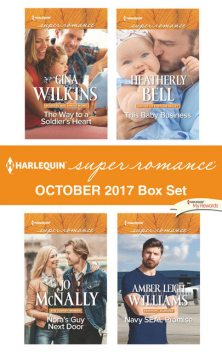 Harlequin Superromance October 2017 Box Set, Amber Leigh Williams, Jo McNally, Heatherly Bell, Gina Wilkins