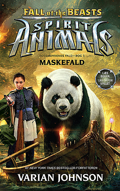 Spirit Animals – Fall of the Beasts 3: Maskefald, Varian Johnson