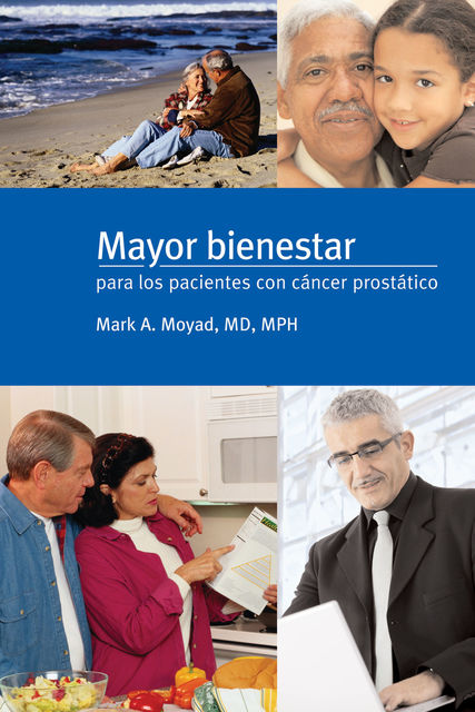 Mayor bienestar para los pacientes con cancer prostatico, Mark Moyad