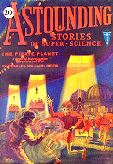 Astounding Stories of Super-Science, November, 1930, Various