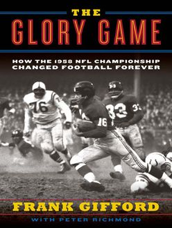 The Glory Game, Frank Gifford, Peter Richmond