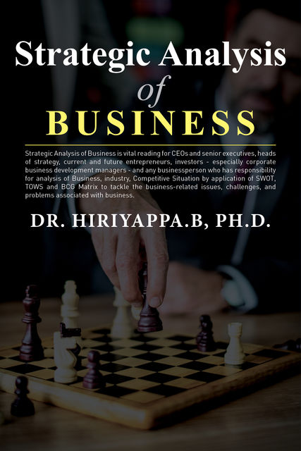 Strategic Analysis, Hiriyappa B