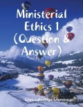 Ministerial Ethics 1 (Question & Answer), Oluwagbemiga Olowosoyo