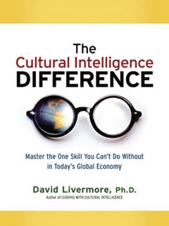 The Cultural Intelligence Difference -Special eBook Edition, David Livermore