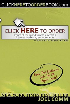 Click Here to Order, Joel Comm