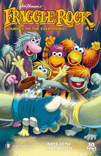 Jim Henson's Fraggle Rock: Journey to the Everspring #4, Kate Leth