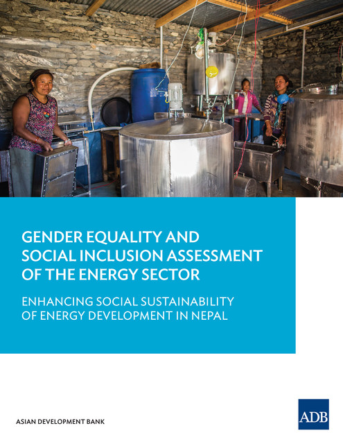 Gender Equality and Social Inclusion Assessment of the Energy Sector, Asian Development Bank