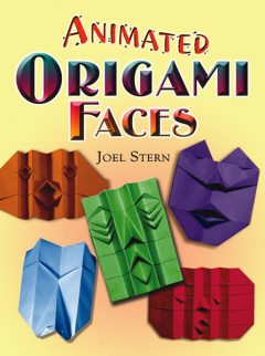 Animated Origami Faces, Joel Stern