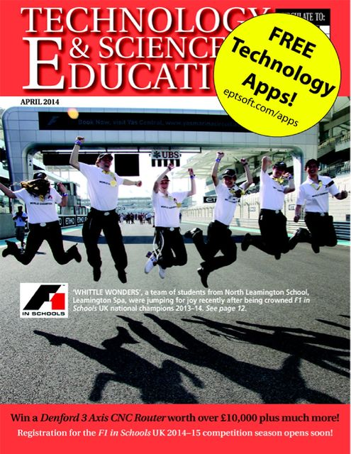 Technology and Science In Education Magazine: April 2014, Clive W.Humphris