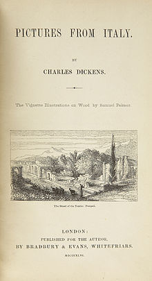Pictures from Italy, Charles Dickens