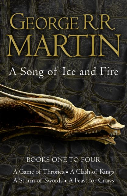 George R. R. Martin's a Game of Thrones 4-Book Bundle, George Martin
