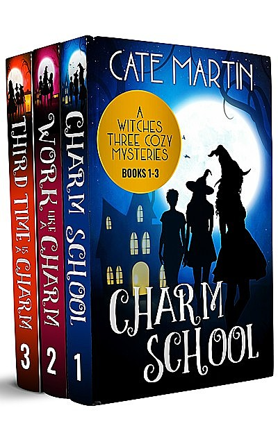 The Witches Three Cozy Mysteries 1–3, Martin Cate