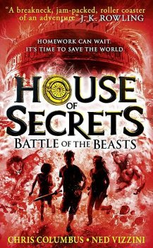 Battle of the Beasts, Ned Vizzini, Chris Columbus