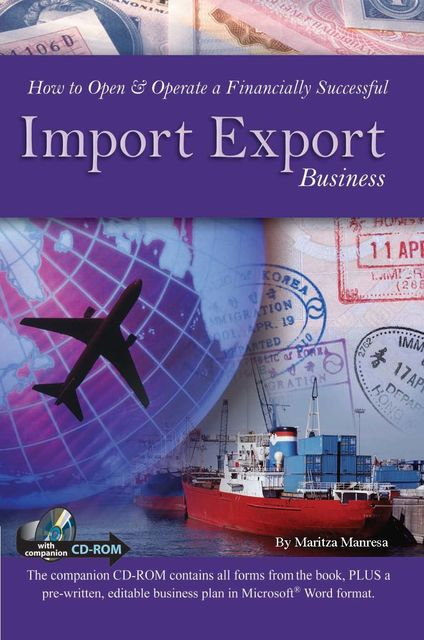 How to Open & Operate a Financially Successful Import Export Business, Maritza Manresa