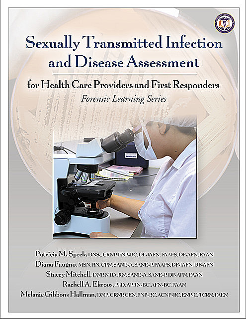 Sexually Transmitted Infection and Disease Assessment, M.B.A., MSN, DNP, RN, CPN, Diana Faugno, DF-IAFN, DNSc, FAAFS, FAAN, FNP-BC, Patricia M. Speck, SANE-P, SANE-A, AFN-BC, DF-AFN, APRN-BC, CRNP, Melanie Gi, Rachell A. Ekroos, Stacey Mitchell