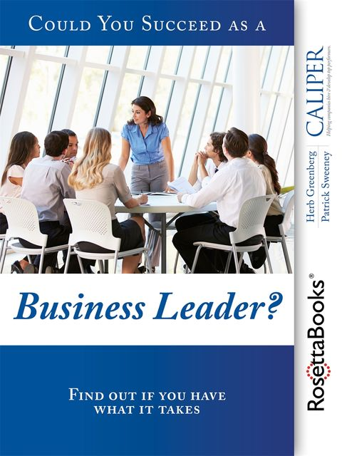Could You Succeed as a Business Leader?, Herb Greenberg, Patrick Sweeney