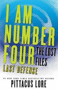 I Am Number Four: The Lost Files: Last Defense, Pittacus Lore