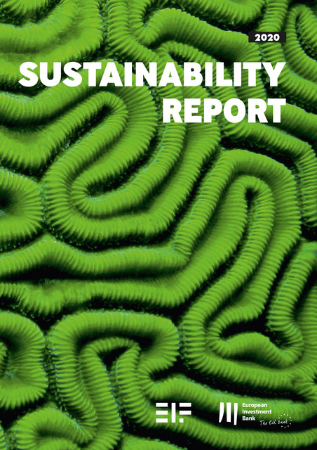 European Investment Bank Group Sustainability Report 2020, European Investment Bank