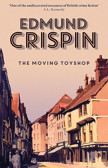 The Moving Toyshop, Edmund Crispin