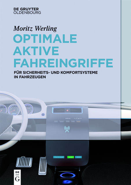 Optimale aktive Fahreingriffe, Moritz Werling