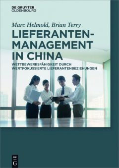 Lieferantenmanagement in China, Marc Helmold, Brian Terry