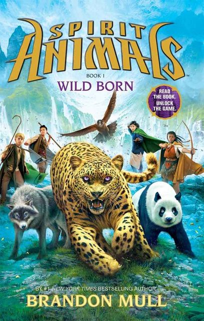 Spirit Animals Book 1: Wild Born, Mull Brandon