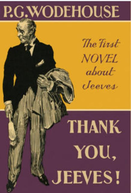 Thank You, Jeeves, P. G. Wodehouse