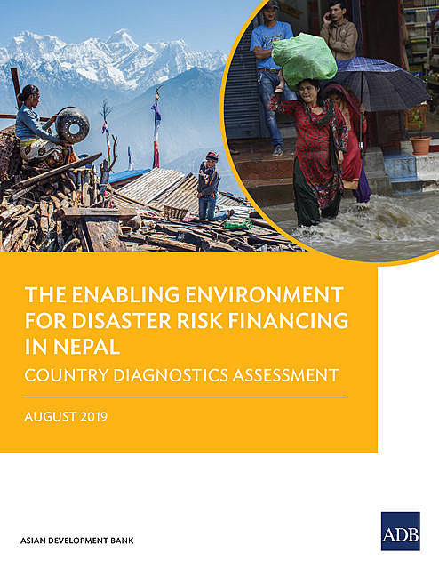 The Enabling Environment for Disaster Risk Financing in Nepal, Asian Development Bank