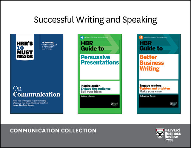 Successful Writing and Speaking: The Communication Collection (9 Books), Harvard Business Review, Nancy Duarte, Holly Weeks, Bryan A. Garner, Jeff Weiss