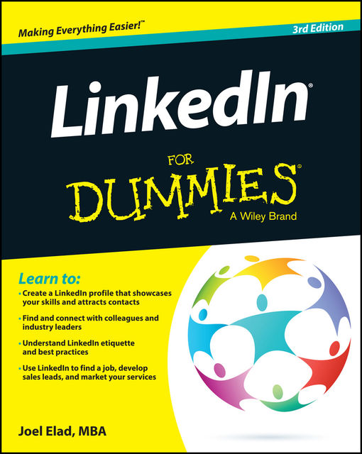 LinkedIn For Dummies, Joel Elad
