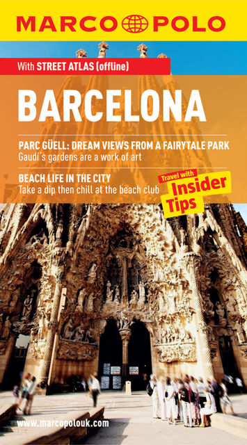 Barcelona Marco Polo Travel Guide, Marco Polo