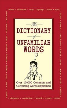 The Dictionary of Unfamiliar Words, Diagram Group