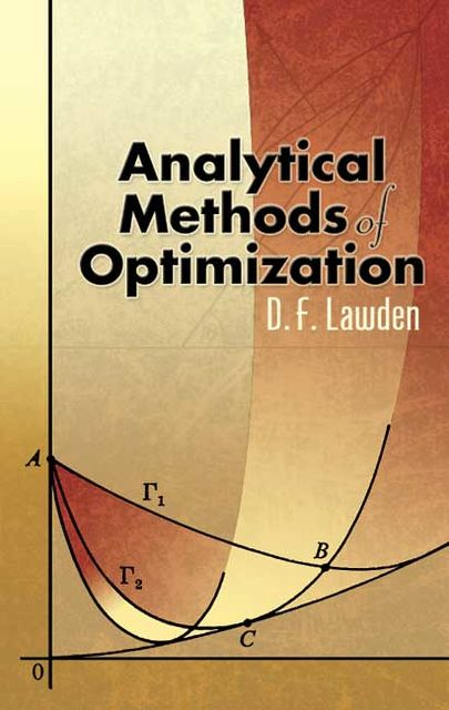 Analytical Methods of Optimization, D.F.Lawden