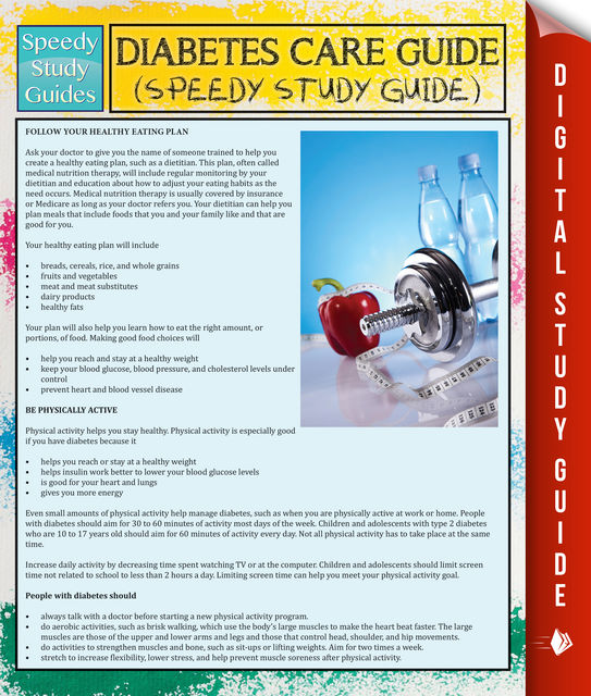 Diabetes Care Guide (Speedy Study Guide), Speedy Publishing