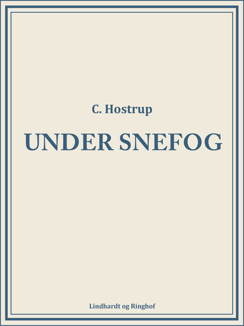 Under snefog, C Hostrup