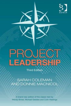 Project Leadership, Donnie MacNicol, Ms Sarah Coleman