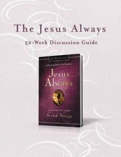 The Jesus Always 52-Week Discussion Guide, Sarah Young