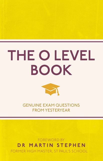 The O Level Book, Various Authors