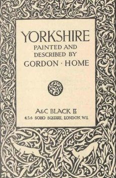 Yorkshire, Gordon Home