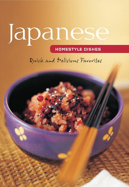 Japanese Homestyle Dishes, Susie Donald