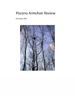 Pocono Armchair Review, First Issue, 2014, The Pocono Armchair Review