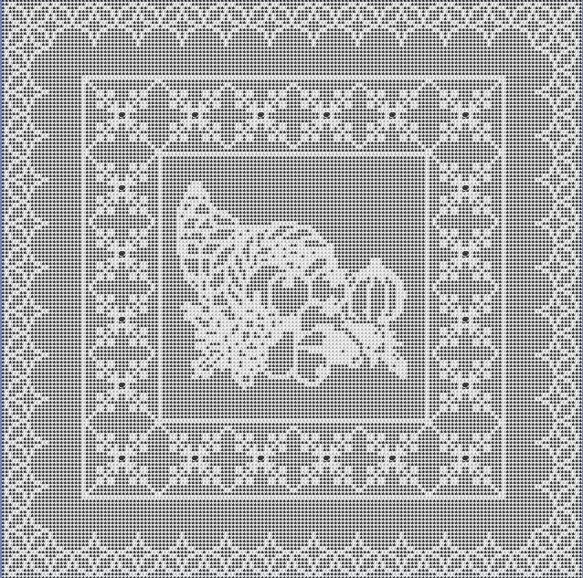 Four Holiday Filet Crochet Patterns, Wendy Caldwell