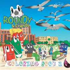 Roundy & Friends – Coloring Book 2, Andres Varela