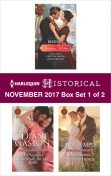 Harlequin Historical November 2017 – Box Set 1 of 2, Harlequin, Lara Temple, Diane Gaston