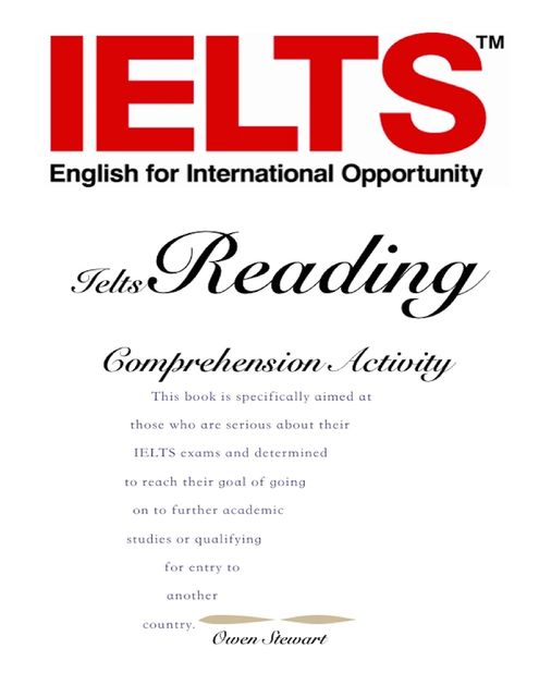 Ielts Reading Comprehension Activity, Owen Stewart