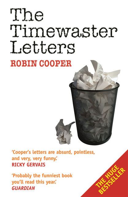 The Timewaster Letters, Robin Cooper