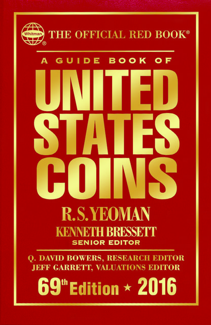 A Guide Book of United States Coins MEGA RED, R.S.Yeoman