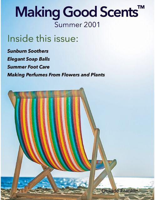 Making Good Scents™ – Summer 2001, Ololade Franklin